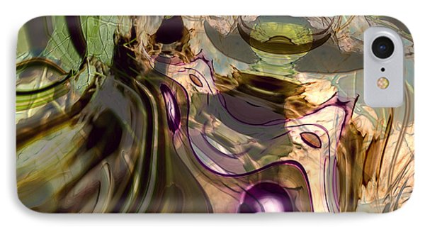 IPhone Case featuring the digital art Sci-fi Fury by Richard Thomas