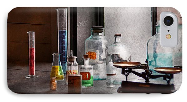 Science - Chemist - Chemistry Equipment  Phone Case by Mike Savad