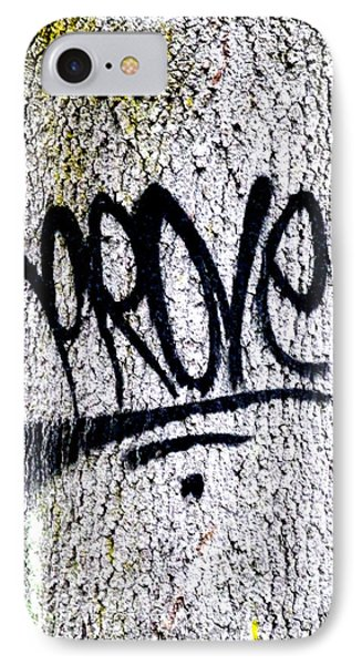 Scientific Graffiti  IPhone Case