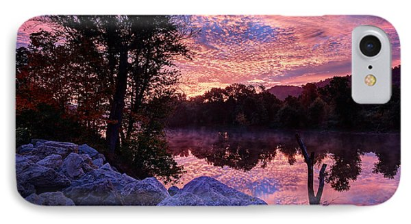 IPhone Case featuring the photograph Scioto Sunrise by Jaki Miller