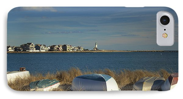Scituate Harbor Boats IPhone Case by Amazing Jules