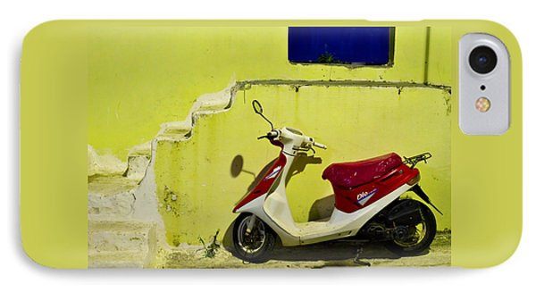 Scooter IPhone Case by Ivan Slosar