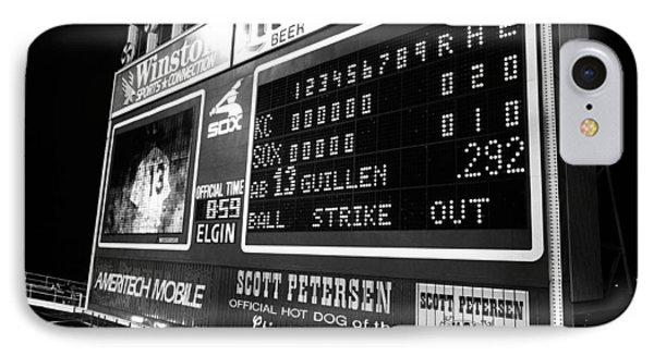 Scoreboard In A Baseball Stadium, U.s IPhone Case