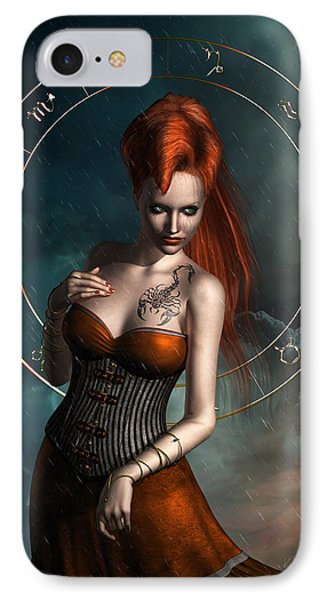 Scorpio Zodiac Sign IPhone Case
