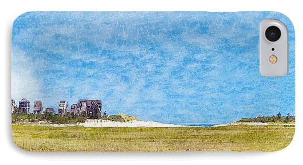 Scorton Creek Inlet Sandwich Cape Cod IPhone Case by Constantine Gregory