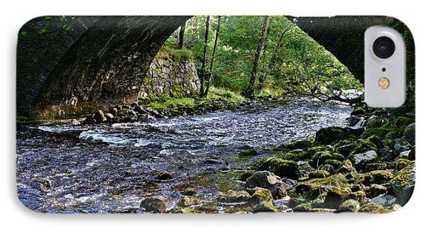 Scotland Bridge IPhone Case by Henry Kowalski