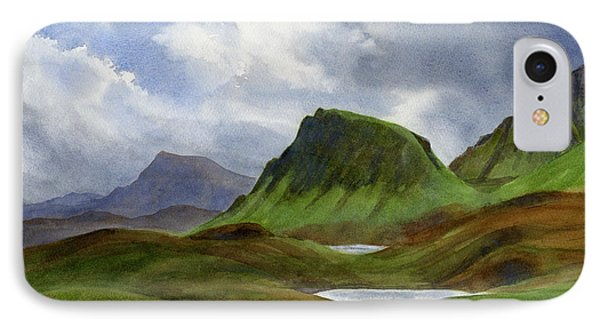 Scotland Highlands Landscape IPhone Case by Sharon Freeman