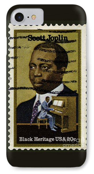 Scott Joplin Stamp IPhone Case