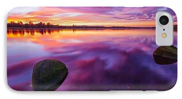 Scottish Loch At Sunset IPhone Case