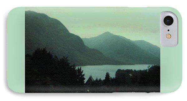 Scottish Mountains Over Loch Lomond IPhone Case