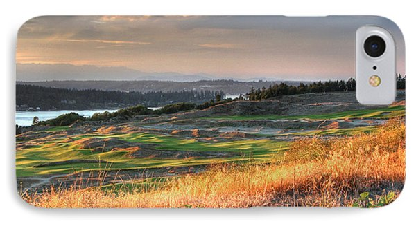 IPhone Case featuring the photograph Scottish Style Links In September - Chambers Bay Golf Course by Chris Anderson