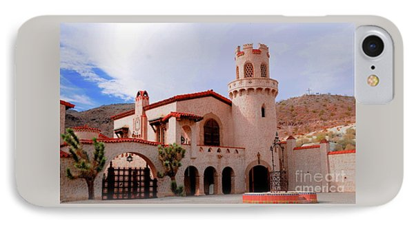 Scotty's Castle Phone Case by Kathleen Struckle