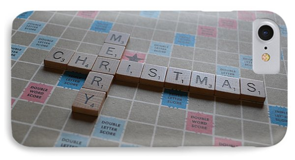 Scrabble Merry Christmas IPhone Case