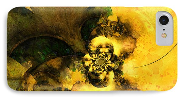 Scream Of Nature Phone Case by Miki De Goodaboom