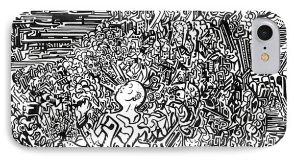 Scream Phone Case by Zachary Worth