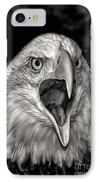 IPhone Case featuring the photograph Screamin Eagle by Adam Olsen
