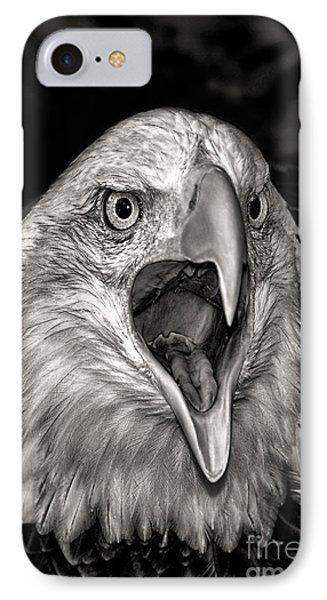 Screamin Eagle IPhone Case by Adam Olsen