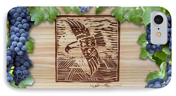 Screaming Eagle IPhone Case