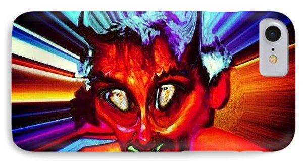 Screwtape - A Younger Novice Devil IPhone Case