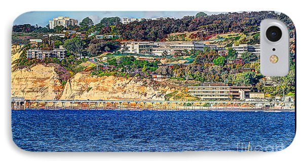 IPhone Case featuring the photograph Scripps Institute Of Oceanography by Jim Carrell