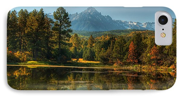 Scripture And Picture Psalm 23 Phone Case by Ken Smith