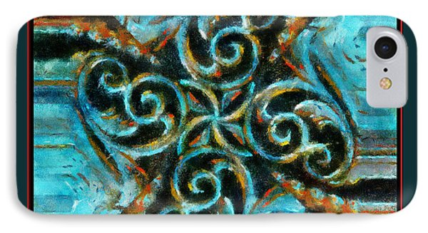 Scrollart IPhone Case by Barbara R MacPhail