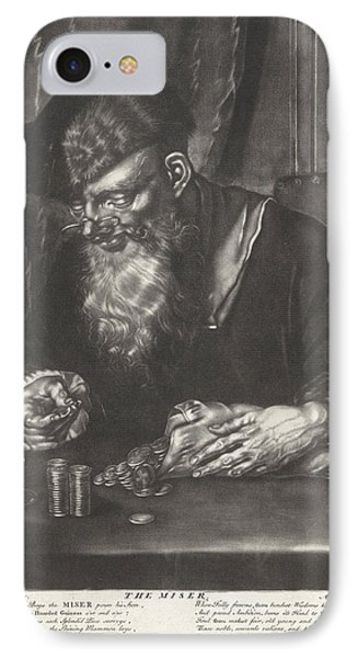 Scrooge, Andreas Van Der Myn, Thomas & John Bowles IPhone Case by Andreas Van Der Myn And Thomas & John Bowles