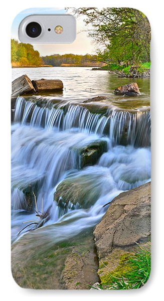 Sculpted Falls Phone Case by Frozen in Time Fine Art Photography