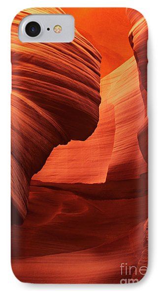 IPhone Case featuring the photograph Sculpted Sandstone Upper Antelope Slot Canyon Arizona by Dave Welling