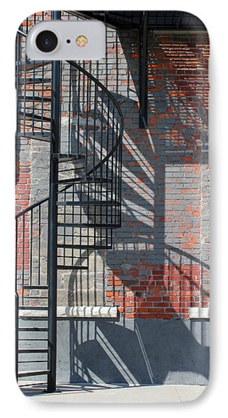 Sculptural Architecture 3 IPhone Case by Mary Bedy