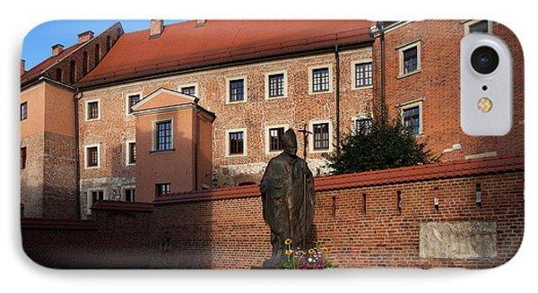 Sculpture Of Pope John-paul II Father IPhone Case