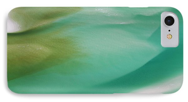 Sea And Fresh Water Covering Beach IPhone Case by Peter Adams