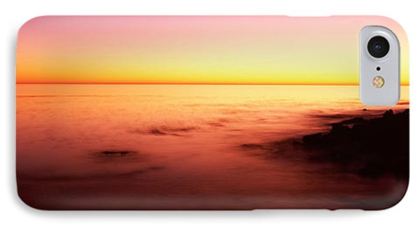 Sea At Sunset, Point Lobos State IPhone Case