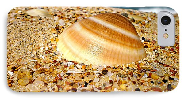 Sea Beyond The Shell IPhone Case by Kaye Menner