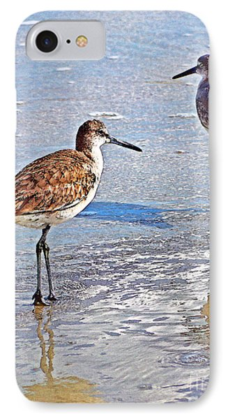 IPhone Case featuring the photograph Sea Birds No.4 by Melissa Sherbon