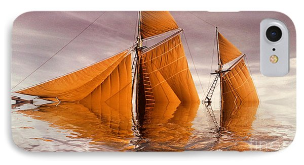 Sea Boat Collections - Naufrage  C02 IPhone Case