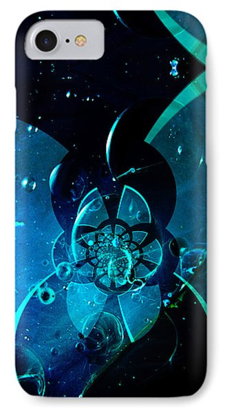 IPhone Case featuring the painting Sea City Iphone Case by Robert Kernodle