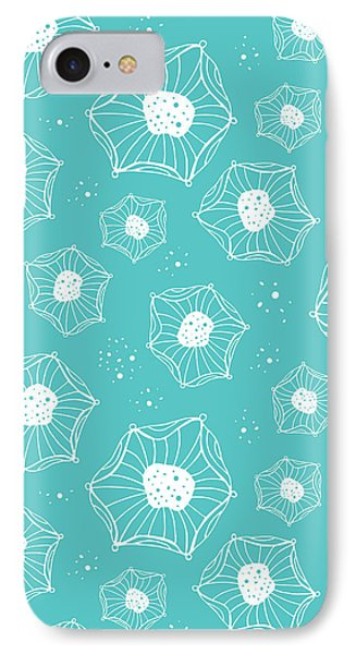 Sea Flower IPhone Case by Susan Claire