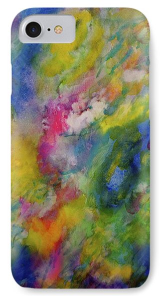IPhone Case featuring the painting Sea Garden by  Heidi Scott