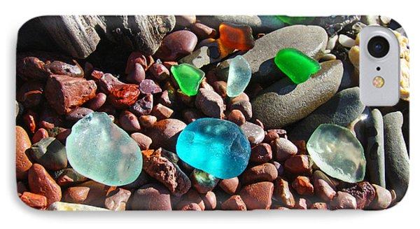 Sea Glass Art Prints Beach Seaglass Phone Case by Baslee Troutman