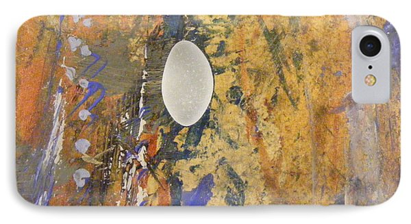IPhone Case featuring the mixed media Sea Glass Float by Nancy Kane Chapman