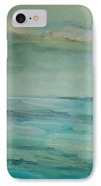 IPhone Case featuring the painting Sea Glass by Mary Wolf