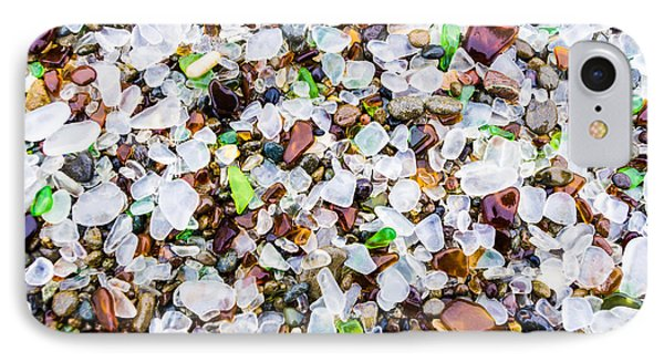 Sea Glass Treasures At Glass Beach IPhone Case by Priya Ghose