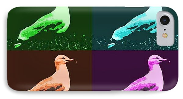 IPhone Case featuring the photograph Sea Gulls 4  by Al Fritz