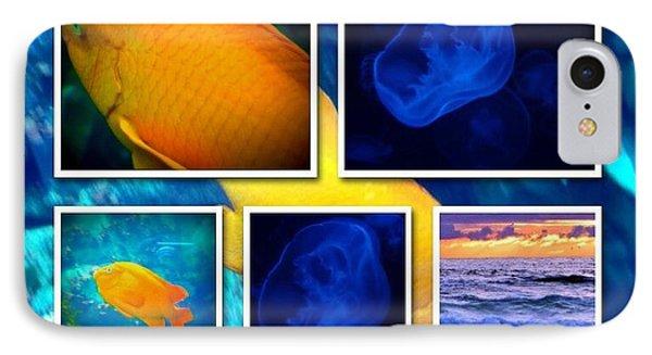 Sea Jelly Fish Phone Case by Susan Garren