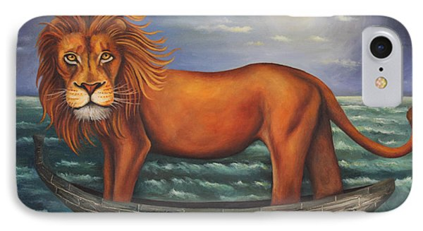 Sea Lion Softer Image Phone Case by Leah Saulnier The Painting Maniac