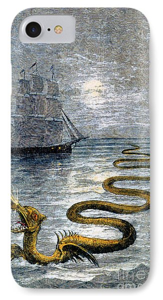 Sea Monster, Legendary Creature IPhone Case