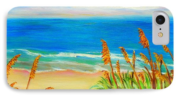 Sea Oat Path IPhone Case by Shelia Kempf