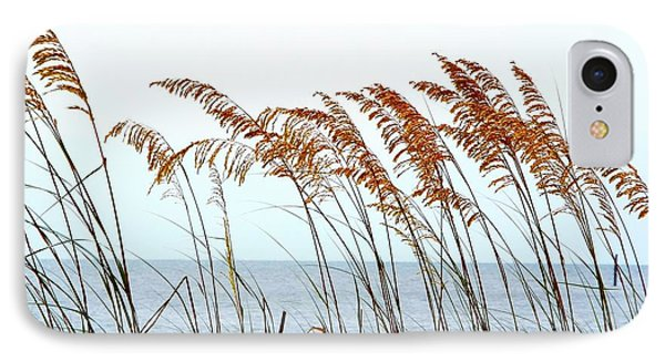 Sea Oats And Serenity IPhone Case by Cindy Croal