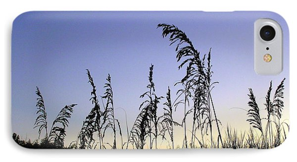 Sea Oats In Silhouette  IPhone Case